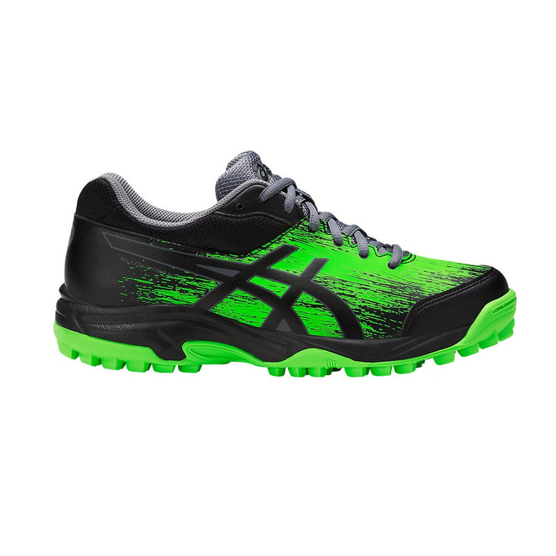 Zapatillas Hockey Asics Gel-Lethal Field 3 Gs Negro Verde Infantil