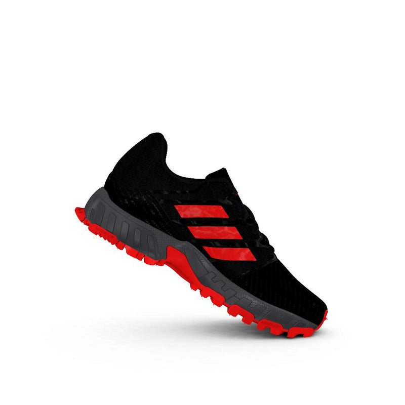 Zapatillas Hockey Adidas Junior Negro Rojo