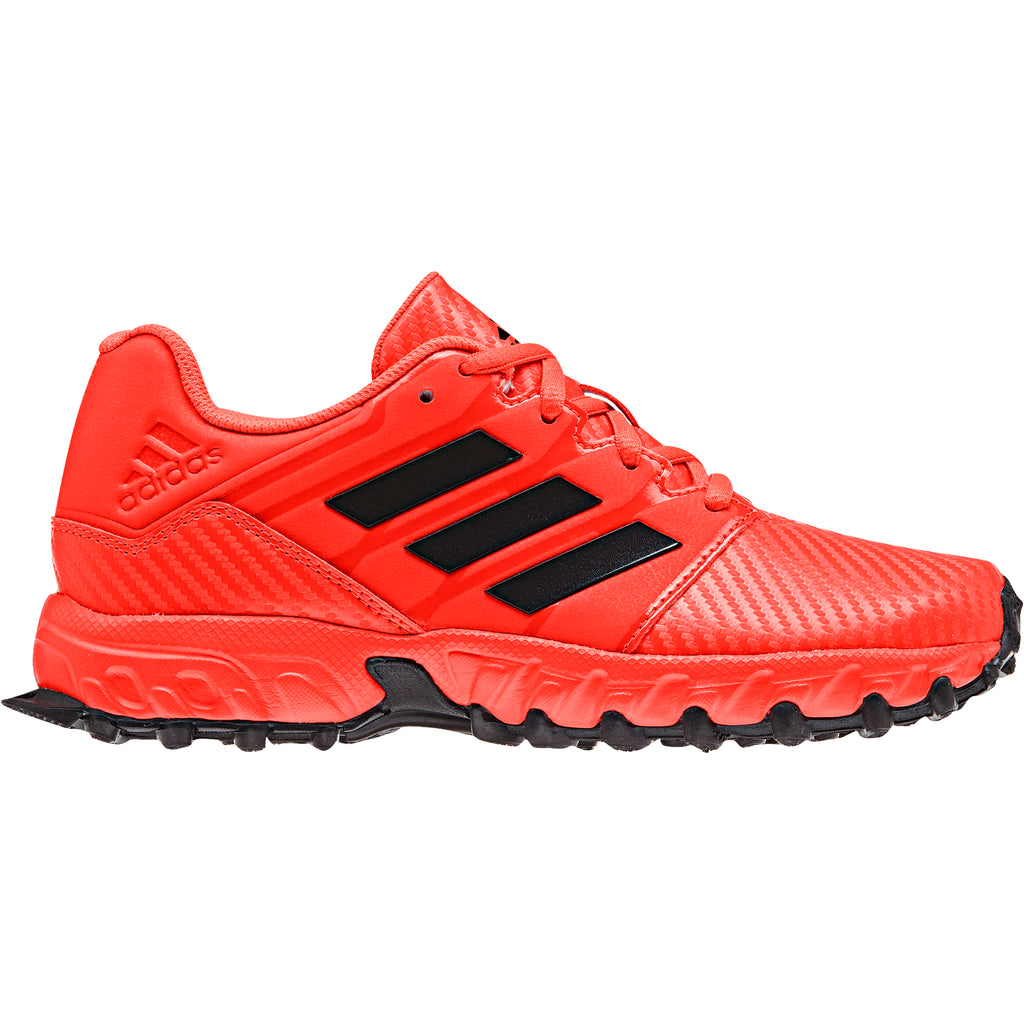 Zapatillas Hockey Adidas Junior Rojo Negro