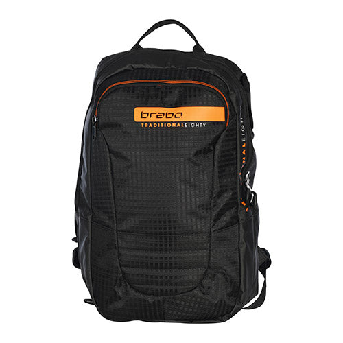 Mochila Brabo Tech Traditional Negro Naranja