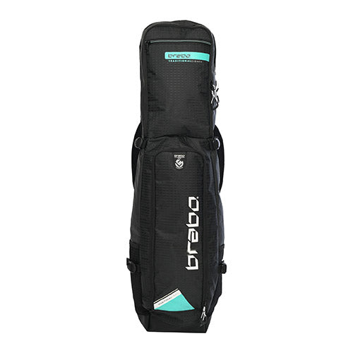 Funda Hockey Brabo Traditional Negro Menta