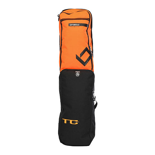 Funda Hockey Brabo Tribute Negro Naranja