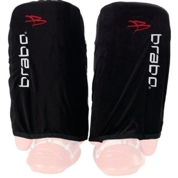 Defensas Hockey Brabo Indoor Covers Negro