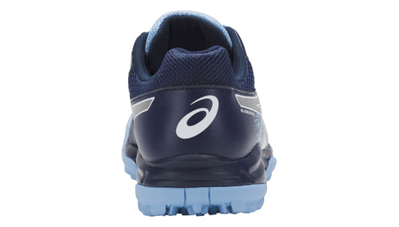 Zapatillas Asics Hockey Gel-Lethal Field 3 Gs Azul Navy y Plateado