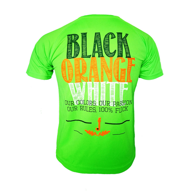 Flick Camiseta Técnica Colors JR Verde
