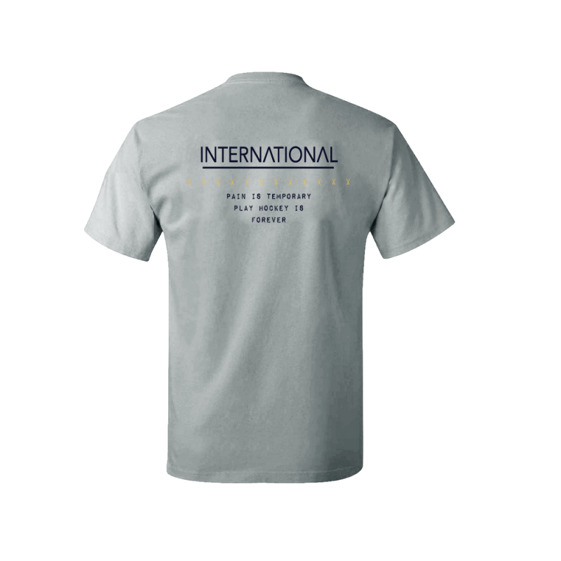 Flick T-Shirt International Sr Gris