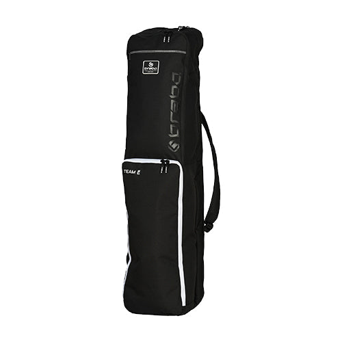 Funda de Hockey Brabo Team TC Negro Blanco