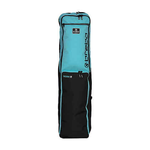 Funda de Hockey Brabo Team TC Negro Menta