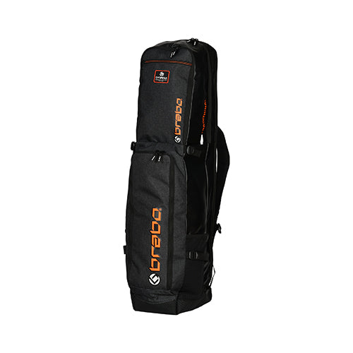 Funda de Hockey Brabo Traditional Negro Naranja