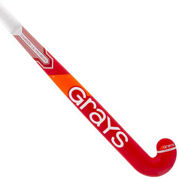 Palo de Hockey Grays GX2000 Ultrabow Rojo/Blanco