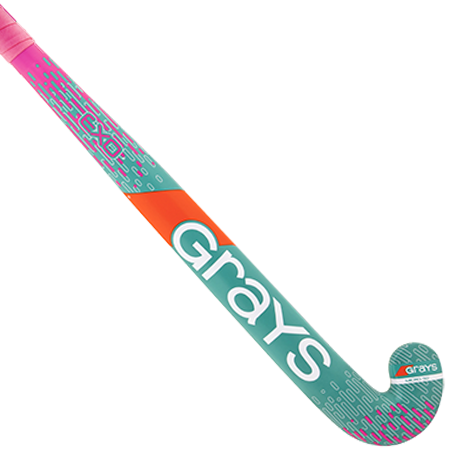 Palo de Hockey Grays EXO Ultrabow Rosa/TEA