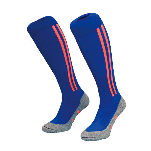 HINGLY Calcetines Stripes Azul/Naranja