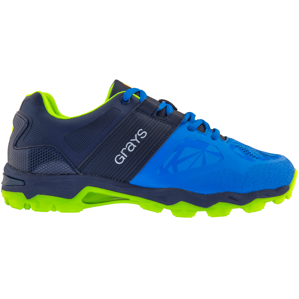 Grays Zapatillas Traction Negro/Azul/Ama