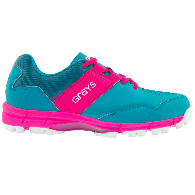 Grays Zapatillas Flash Junior Azul/Rosa