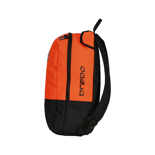 Mochila Brabo Junior Team TC Negro Naranja
