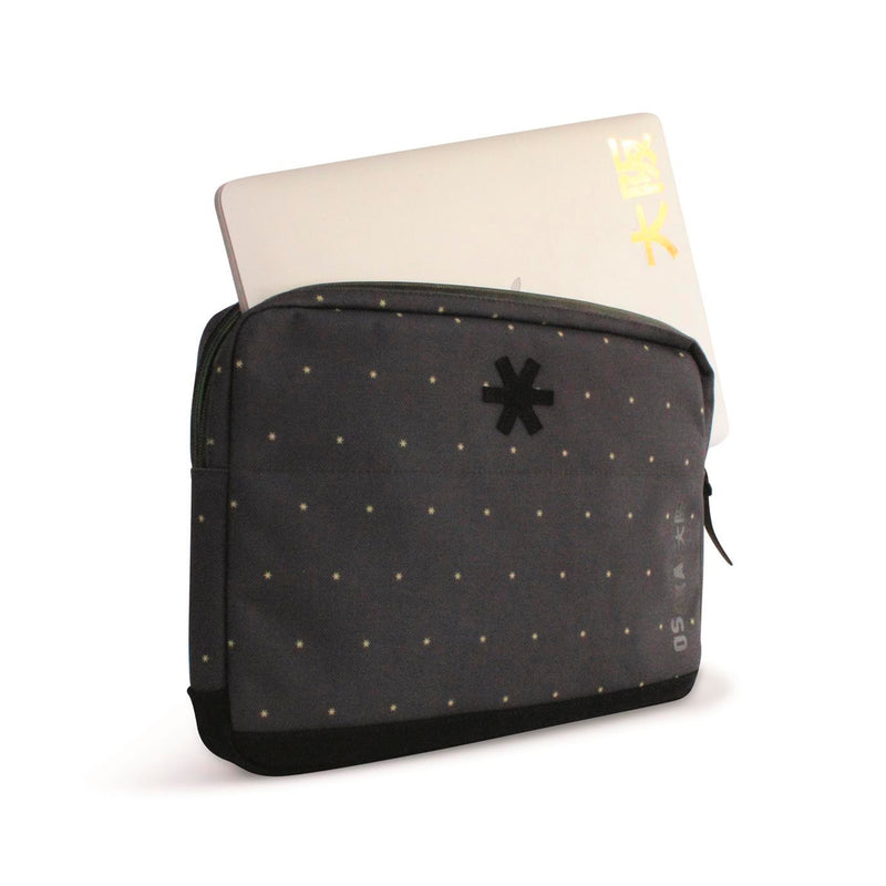 "Funda Portatil 15"" Osaka Big Job Charcoal Amarillo"