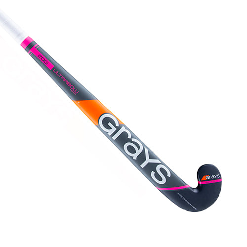 Palo de Hockey Grays 200i Ultrabow Sala Gris Rosa