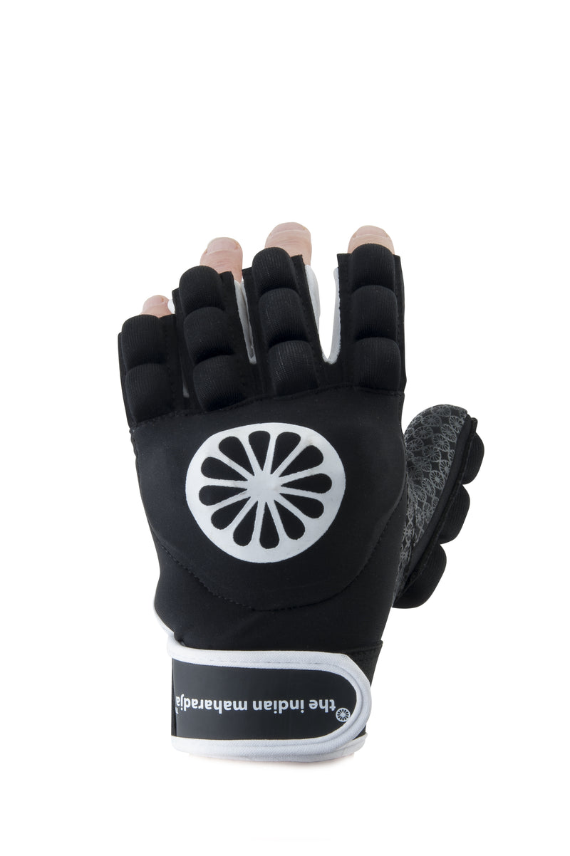 Guante de Hockey The Indian Maharadja Glove shell/foam half [left]-black