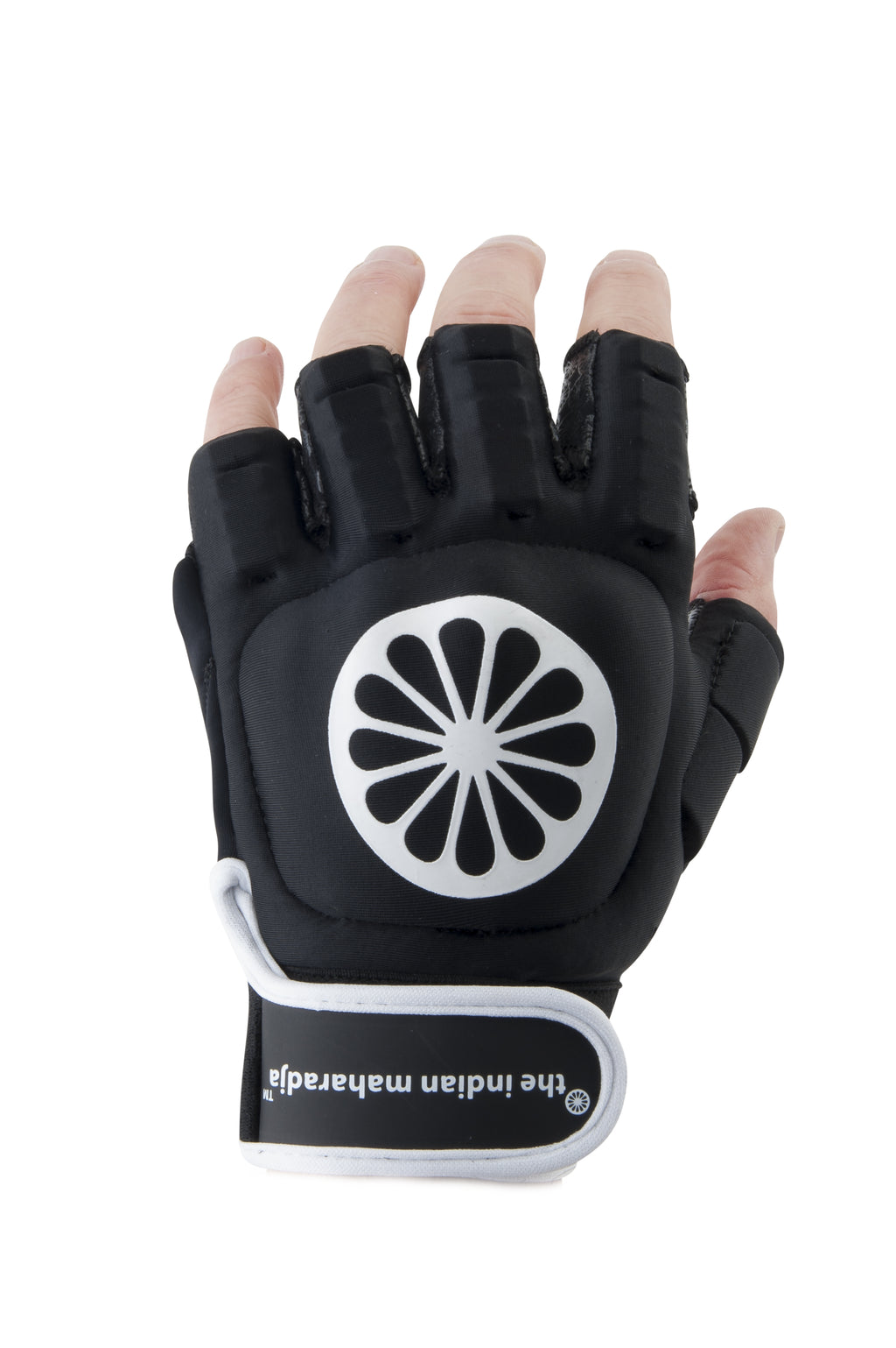 Guante de Hockey The Indian Maharadja Glove shell half [left]-black
