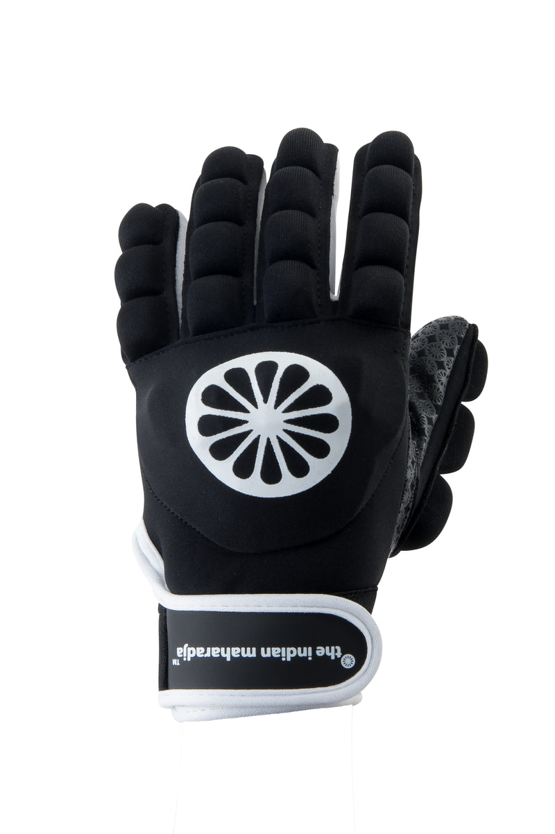 Guante de Hockey The Indian Maharadja Glove shell/foam full [left]-black