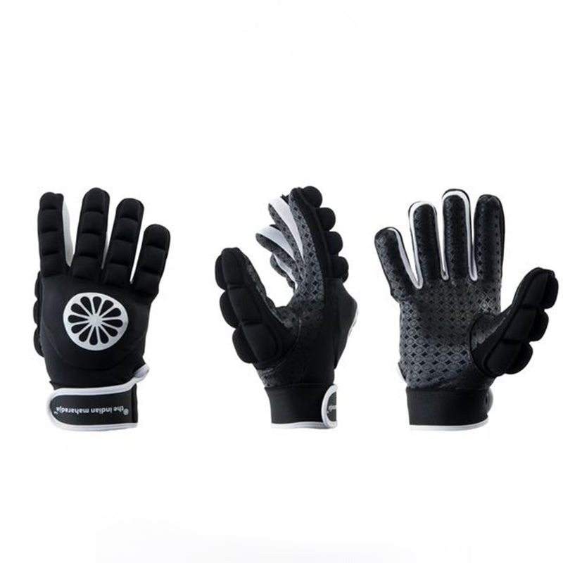Guante de Hockey The Indian Maharadja shell/espuma entero [derecho] negro