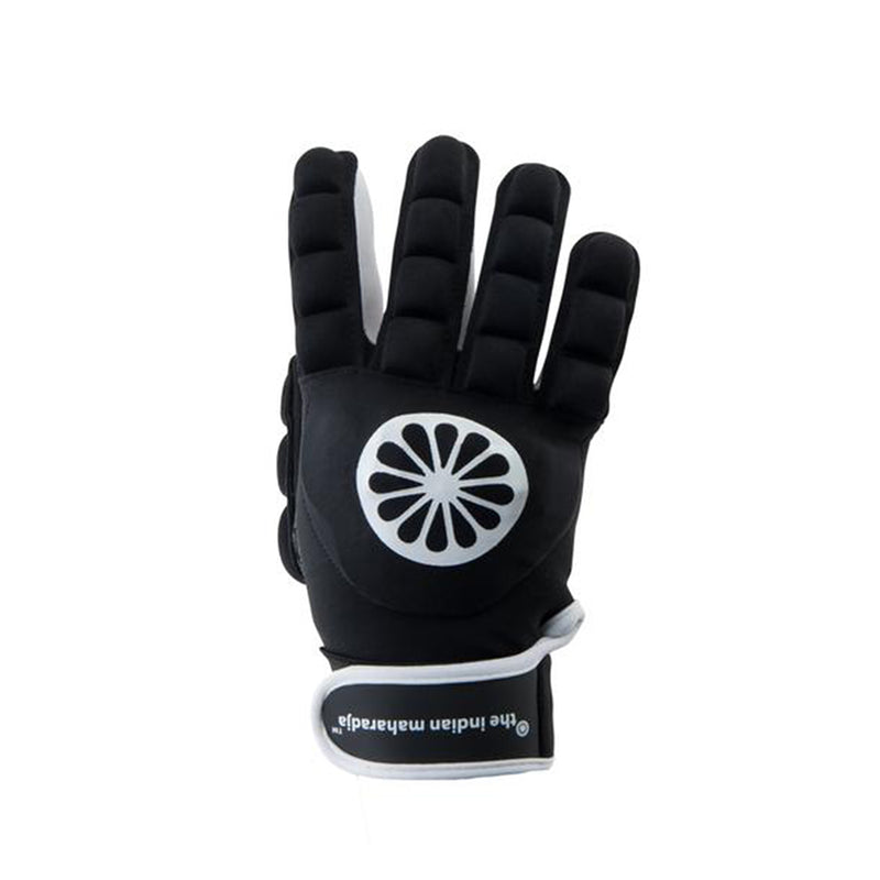 Guante de Hockey The Indian Maharadja Glove shell/foam full [right]-black