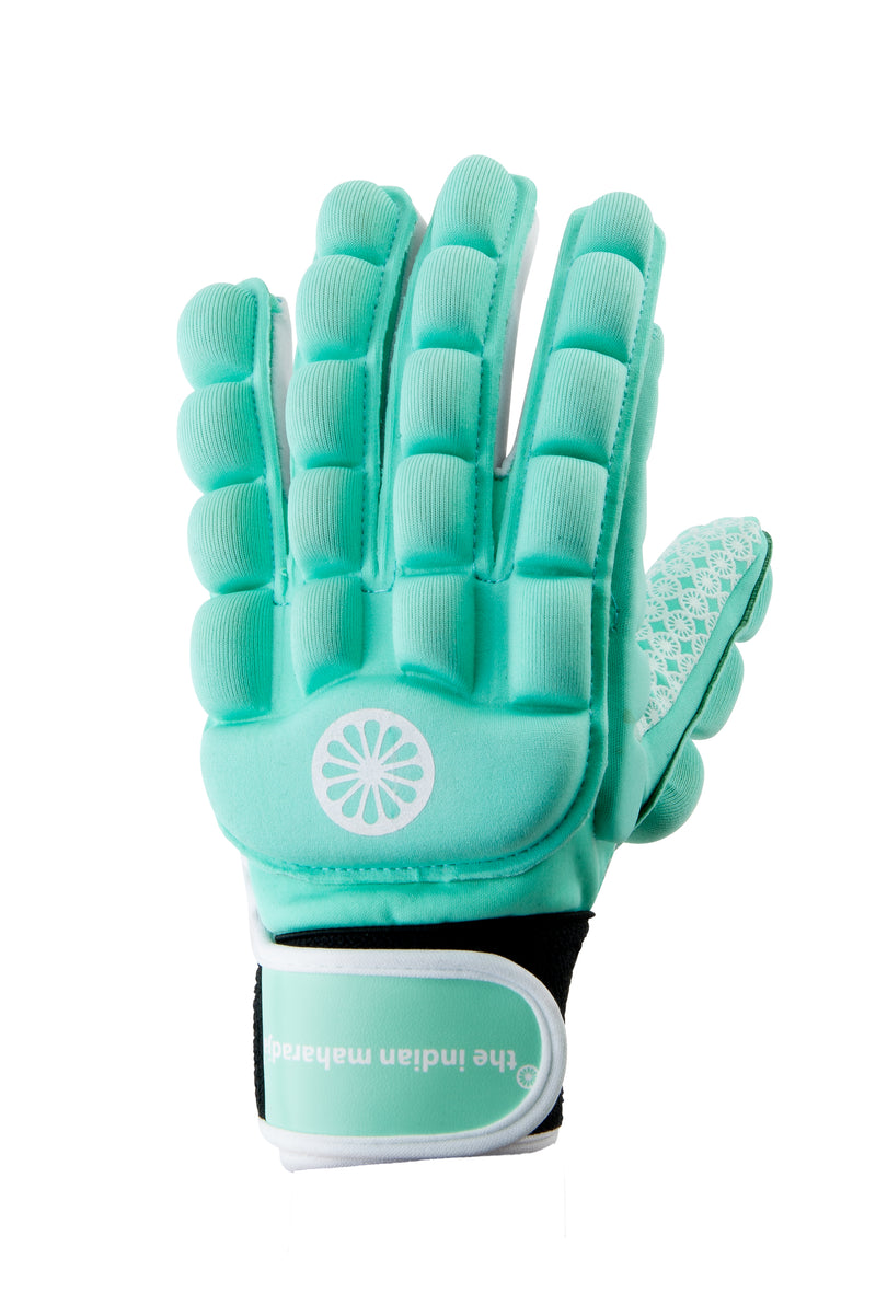 Guante de Hockey The Indian Maharadja Glove foam full [left] mint