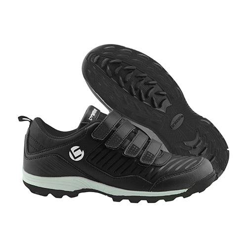 Zapatillas Hockey Brabo Velcro Negro