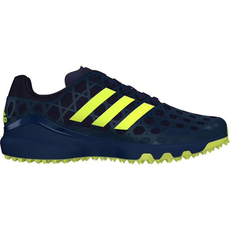 Zapatillas Hockey Adidas Adizero Hockey Azul Amarillo