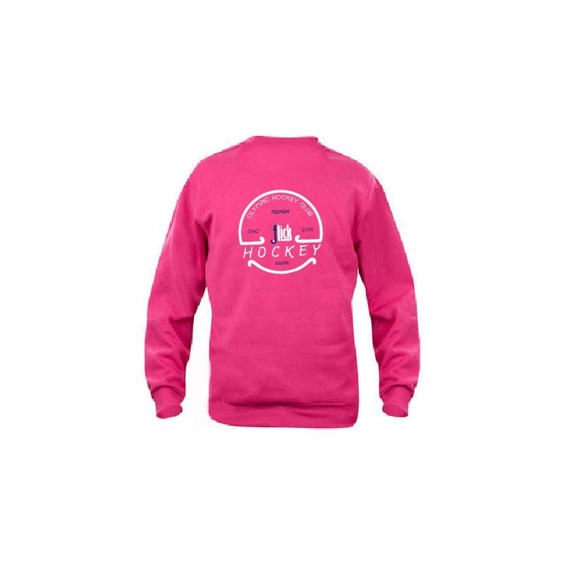 Sudadera Flick Hockey Feel Field Fucsia