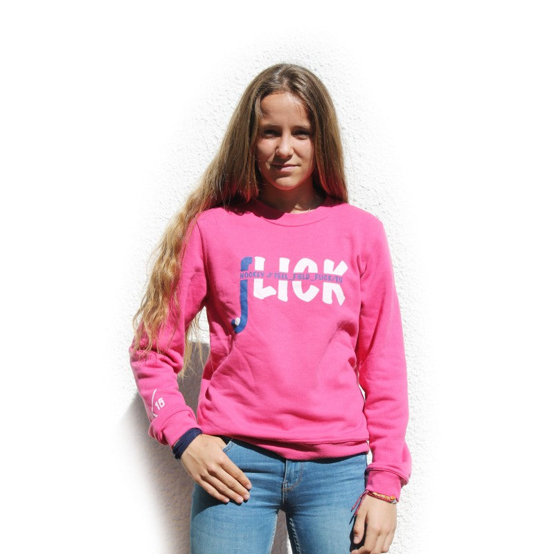 Sudadera Flick Hockey Feel Field JR Fucsia