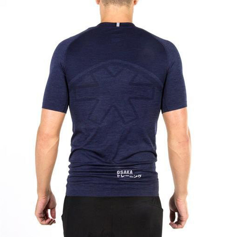Osaka Men Tech Knit SS Tee - Navy