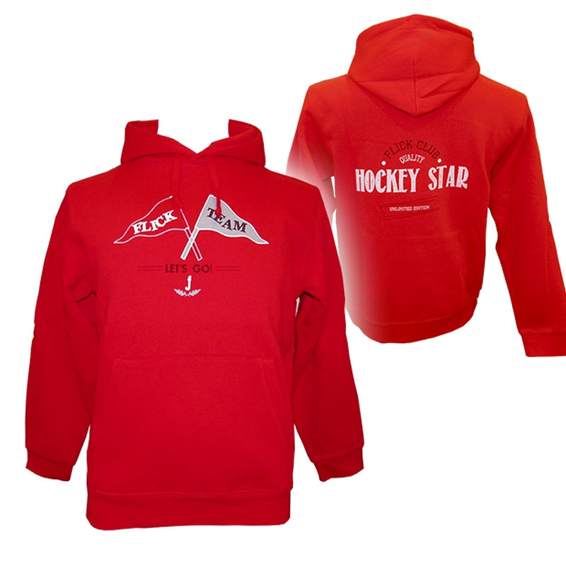 Sudadera Flick Hockey Let'S Go Jr