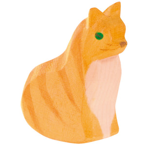 Ostheimer Cat, orange sitting