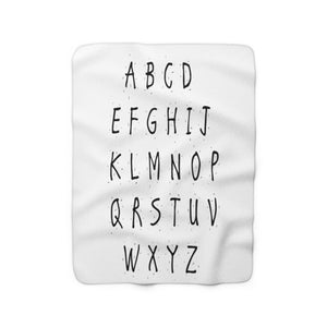 ABC Sherpa Fleece Blanket