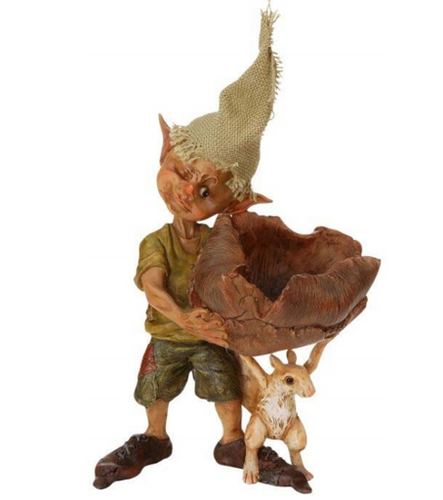 Elfin with Lily Basket-- Limited Edition - Woodland Emporium