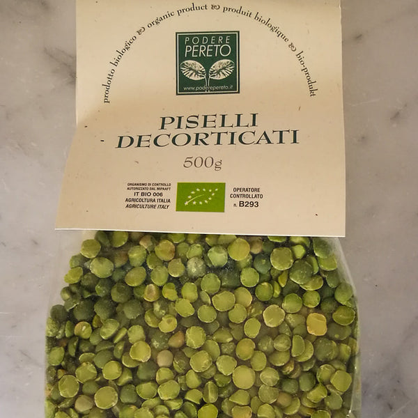 Piselli decorticati