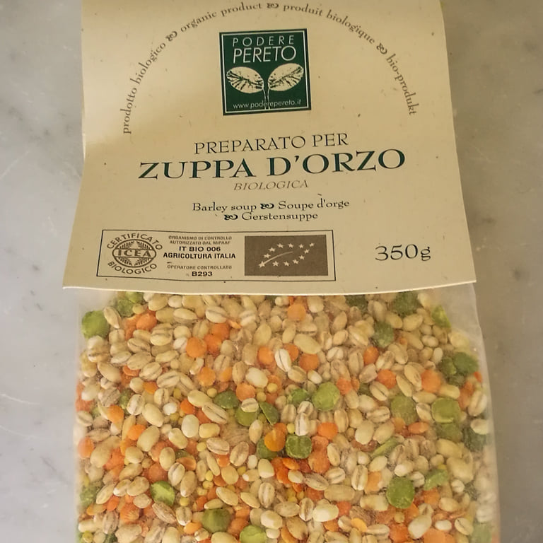 Zuppa d'orzo