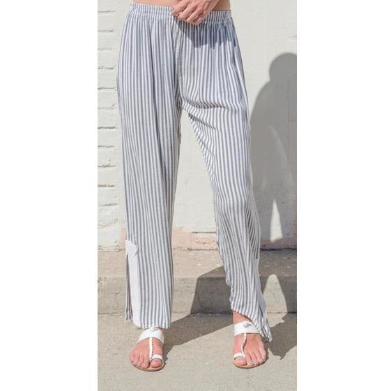 Striped Olivia Pant. Front View