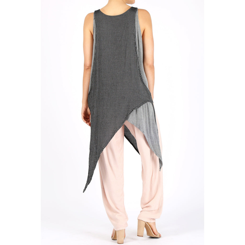 Four Pointed Tank - Sage Moon