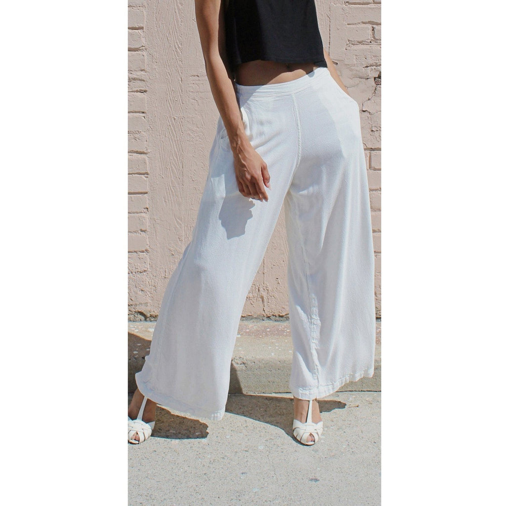 Stella Wide Leg Pants- Sage Moon