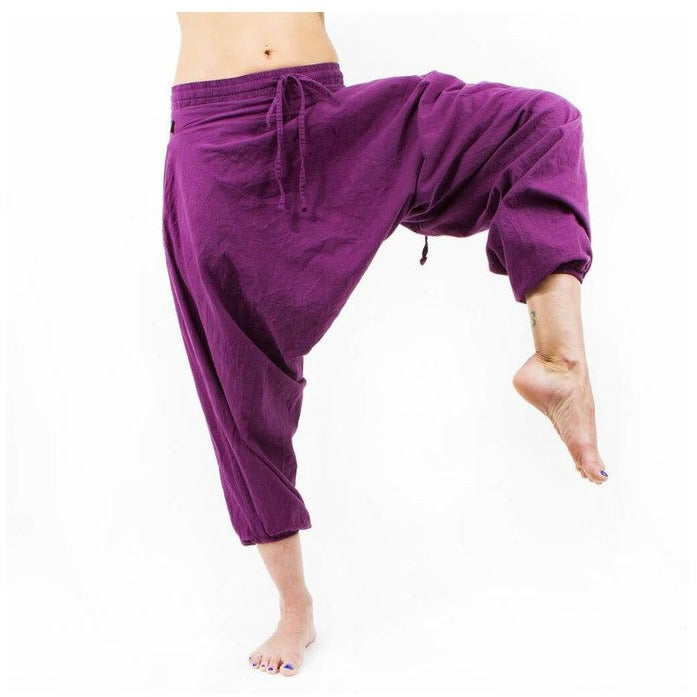 Savannah Winter Harem Pant. Purple