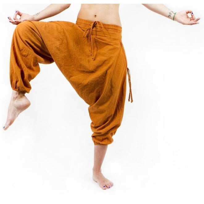 Savannah Winter Harem Pant. Orange