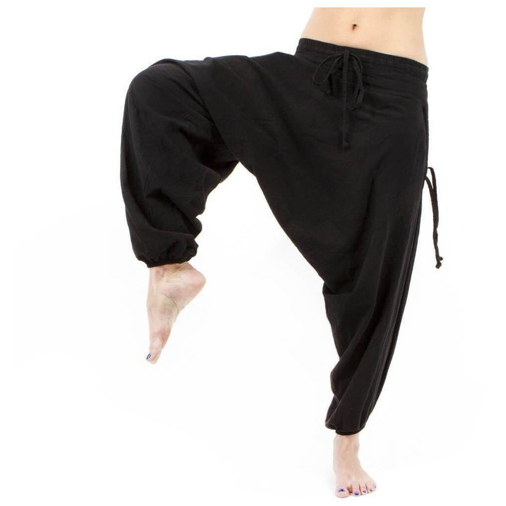 Savannah Winter Harem Pant. Black