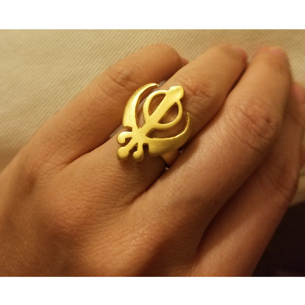 Adi Shakti Ring - Sage Moon