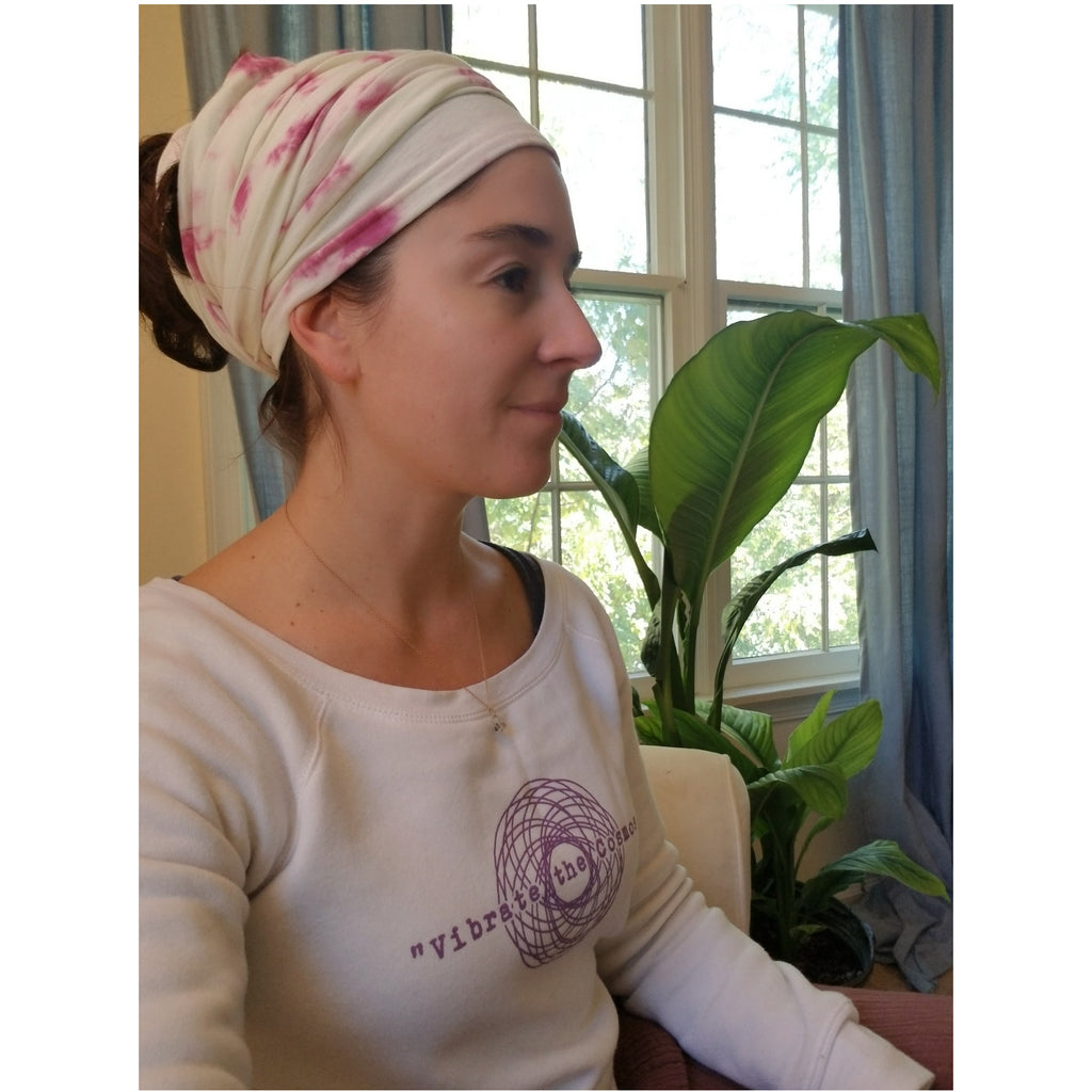 Fair Trade Infinity Scarf/Turban - Sage Moon