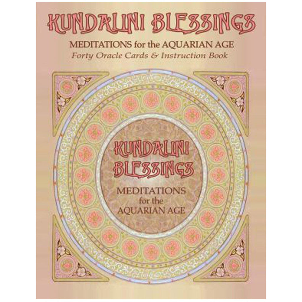 Kundalini Blessings: Meditations for the Aquarian Age Oracle Card Deck - Sage Moon