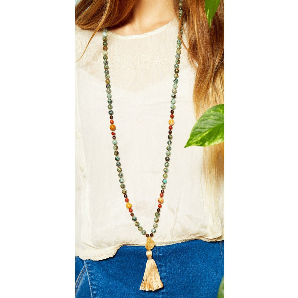 Evolution Mala on woman