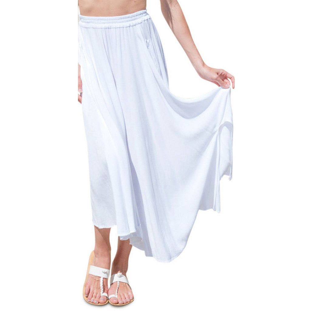 White Lotus Skirt. Front View