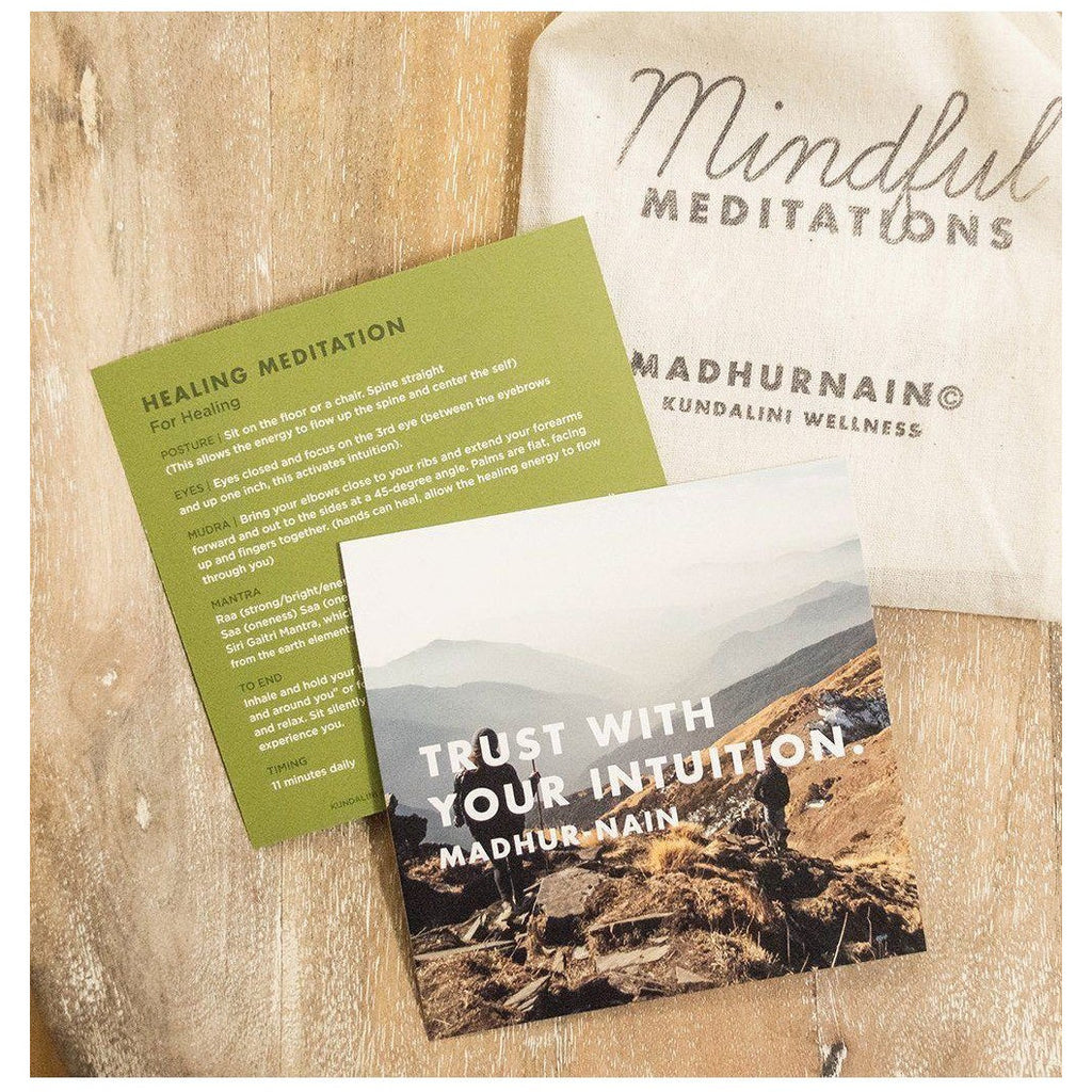 Mindful Meditation Cards - Sage Moon